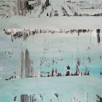 Skyline Turquoise, 71 cm x 90 cm, Preis in EUR 630,00