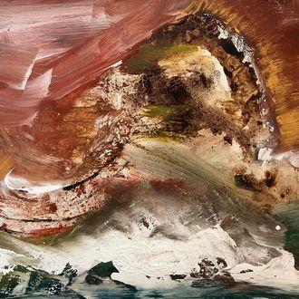 Mud wave, 70 cm x 80 cm, Preis in EUR 695,00